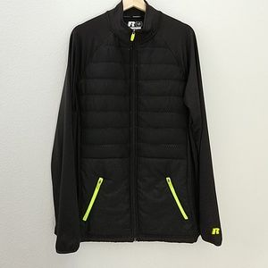 Mens Russell Training Fit Athletic Jacket